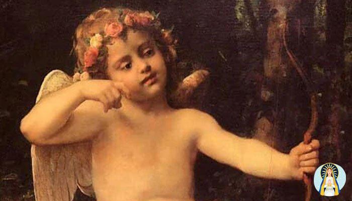 Oración a Cupido para que no pueda olvidarte nunca