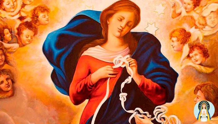 Oración a la Virgen Desatanudos para abrir tus caminos definitivamente y para siempre