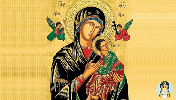 Oracion a la Virgen del Perpetuo Socorro para alejar a su amante para siempre