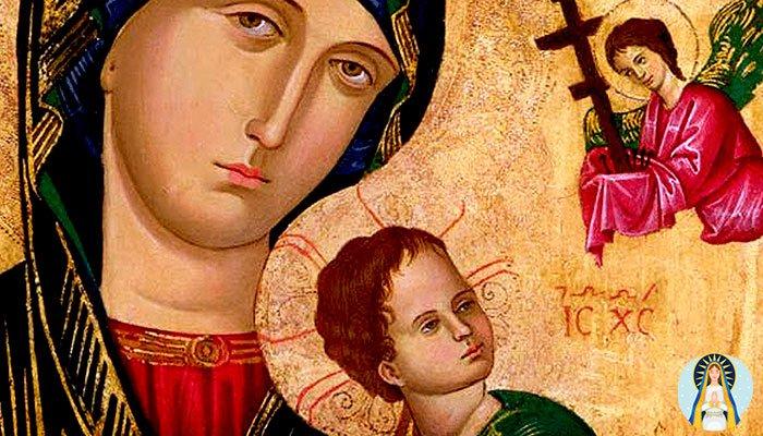 Oración a la Virgen del Perpetuo Socorro para un milagro
