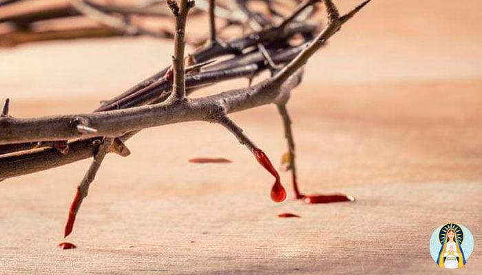 Oración a la sangre de Cristo para pedir un milagro