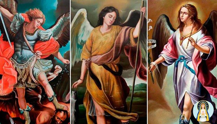 Oración a los Arcángeles para pedir tres deseos