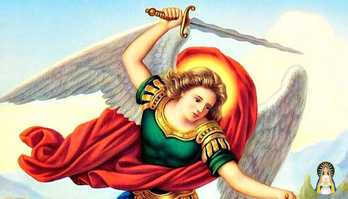 Oración al Arcángel San Miguel para cortar todo lo negativo