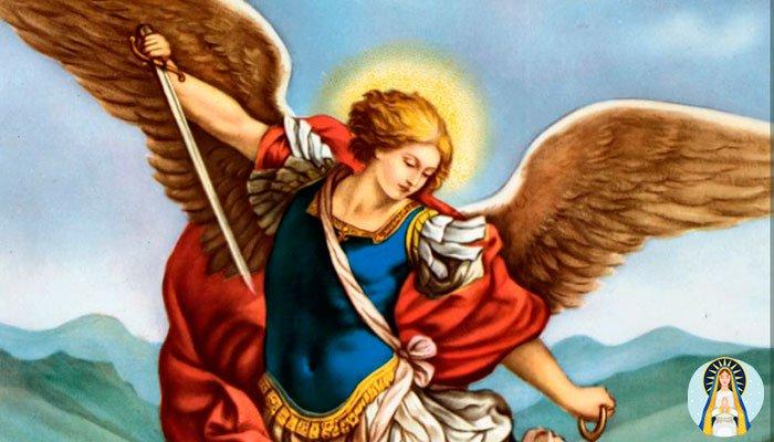 Oración para ganar un juicio: Arcángel San Miguel