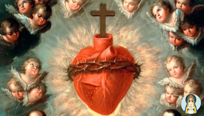 Oración para los hijos al Sagrado Corazón de Jesús