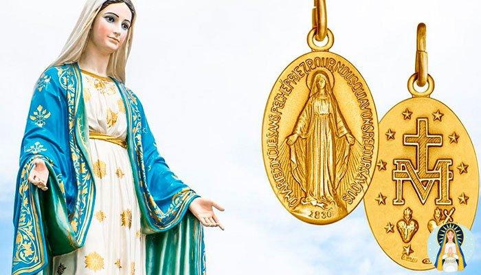 Oración para que te llame a la Virgen de la Medalla Milagrosa