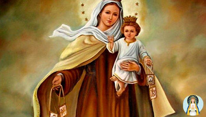 Oración para que te sea fiel a la Virgen del Carmen