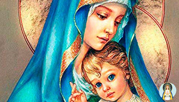 Pide ayuda a la Virgen Maria cuando no encuentres solucion
